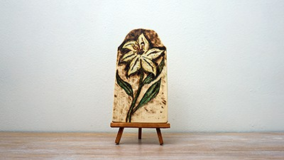 My First Pyrography project in 2019 [Not Good] Thumbnail