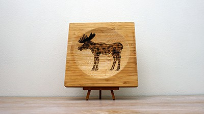 King Of The Forest - Easy Pyrography Project [2019] Thumbnail