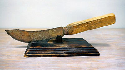 Restoration of an Old Knife [No Power Tools] Thumbnail