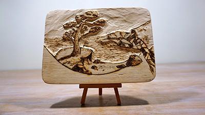 Wood Carving Project [+Pyrography] Thumbnail