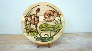 Water Lily Flower Pyrography Project [2019] Thumbnail