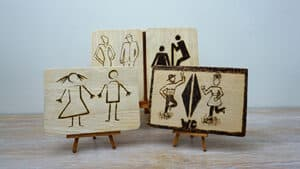 4 Funny Toilet Signs Burned With Pyrography [2019] Thumbnail