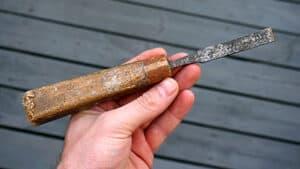Old chisel restoration