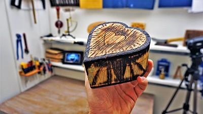 Wood burning FindFixDonate