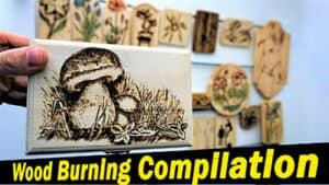 Wood burning compilation FindFixDonate
