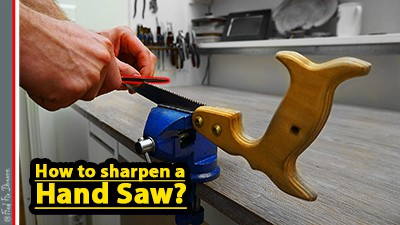 Sharpening a hand saw FindFixDonate