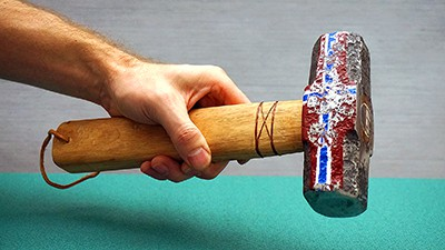 Hand Restored Old Hammer & Customized