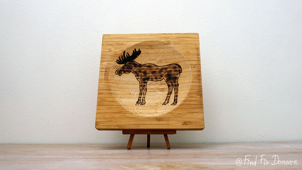 King Of The Forest - Easy Pyrography Project