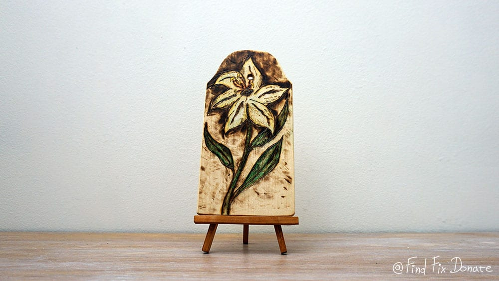 My first pyrography project finally finished.