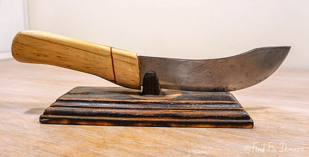 Norwegian knife after restoration.