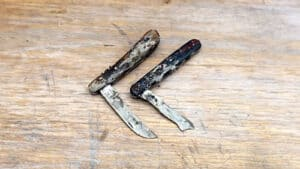 Two old pocket knives