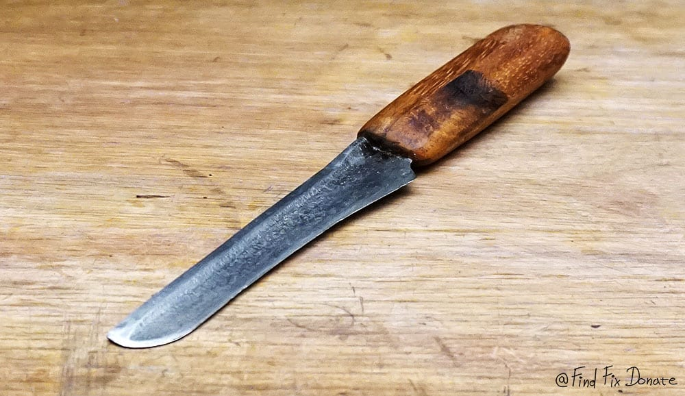 Old wicked knife after restoration.