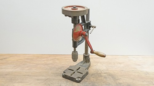 Old drill press - KEEN M. C. GOODING & CO. CROYDON, manufactured in England