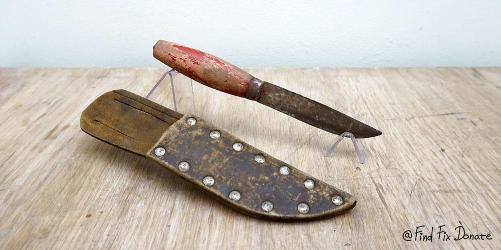 Old S&S Helle Knife