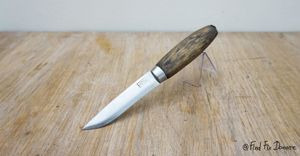 This is how it looks fMM knife after restoration.
