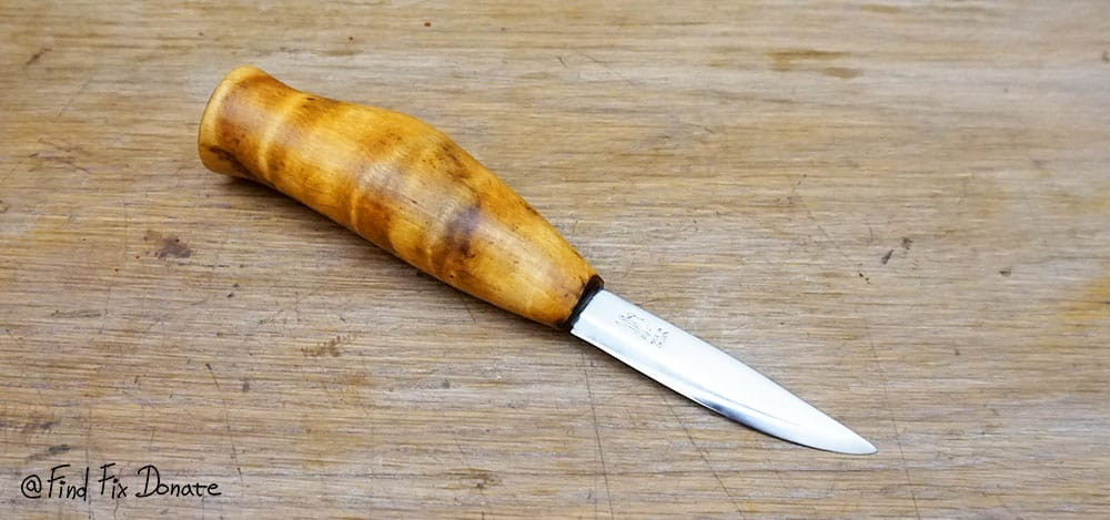 Here is how I restored old knife's blade. Looks great!