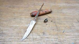 Restored tiny Mora knife